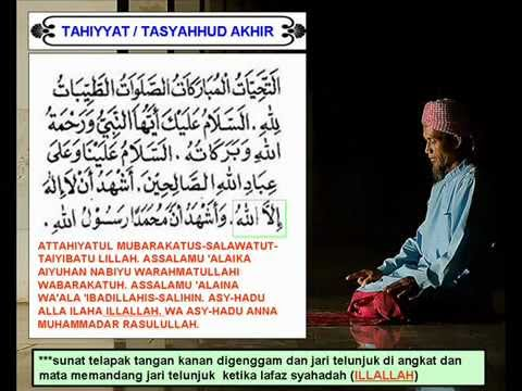 Image result for tahiyat akhir
