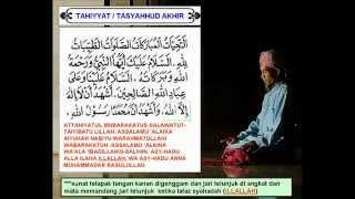 Bacaan Tahiyyat Tasyahhud Akhir