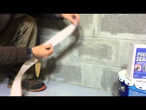 waterproofing-basements-with-ames®-peel-&-stick™-seam-tape
