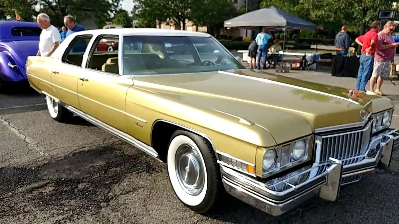 1973 Renaissance Gold Cadillac Fleetwood 4 Door Sedan Youtube