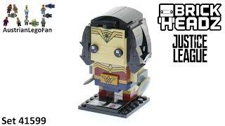 Lego Brickheadz 41599 Wonder Woman - Lego Speed Build Review