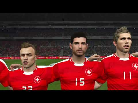 Suisse - France [PES 2016] | UEFA EURO 2016 (Groupe A - 3ème Journée) | CPU Vs. CPU