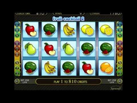 Slot fruit cocktail online free