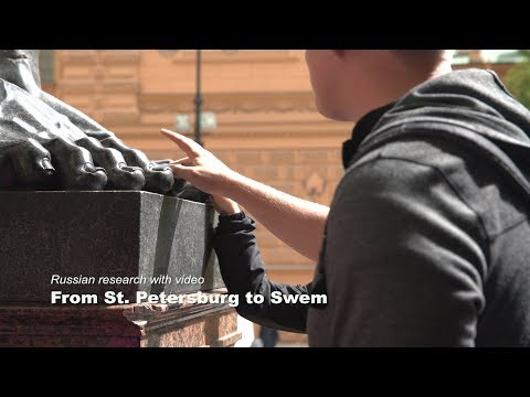 Russian research with video: From St. Petersburg to Swem