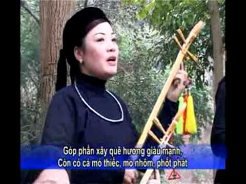 Đội dân ca Nộc Én - Lạng Sơn quê nọọng - Clb Thác Mạ, TPLS