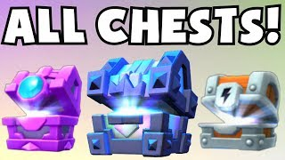 OPENING ALL CHESTS | Clash Royale LEGENDARY KING'S CHEST OPENING / FORTUNE CHEST / LIGHTNING CHEST