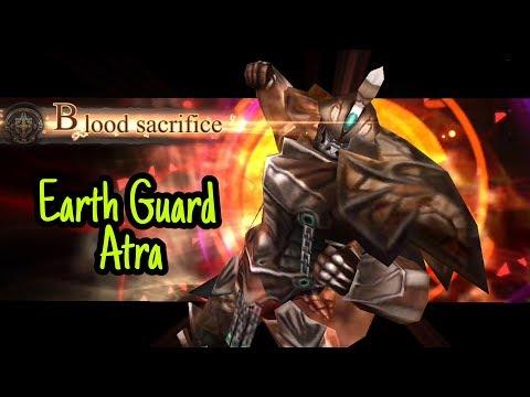 Earth Guard Atra | Summon Red Hero | Final Fantasy Awakening Gameplay