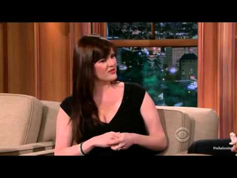 Sara Rue on Craig Ferguson May 13, 2013   Full  HD