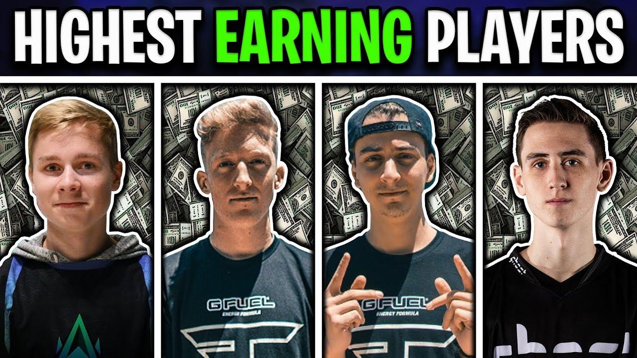 highest earning fortnite pro players updated 2019 - nate hill fortnite earnings
