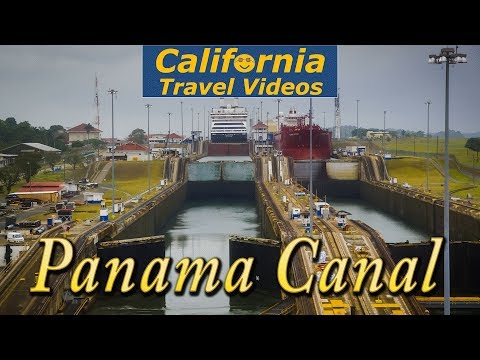 cTv Cruising Panama Canal locks - Cinema, History, Cool Statistics