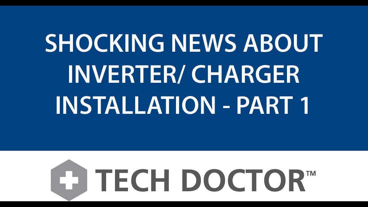 small resolution of xantrex tech doctor shocking news about inverter charger installation part 1