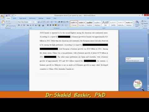 Research Background  Problem Statement and Purpose - Research and Thesis