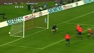 Polska - Norwegia 2001 (3:0) / Poland - Norway 2001 (3:0) - Biało-czerwone jedenastki (HD)