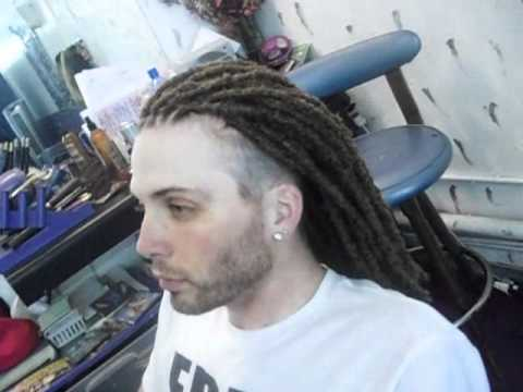 Dread Extensions In A Mohawk Dread Hawk Youtube