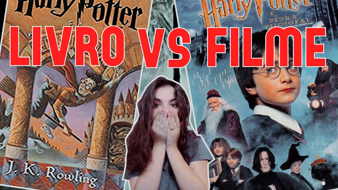 harry potter e a pedra filosofal filme vs livro youtube youtube