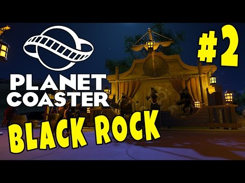 LYS-EFFEKTER OG BUTIKKER - Planet Coaster #2