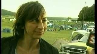 Gianna Nannini Volo e intervista Wohlen 2003