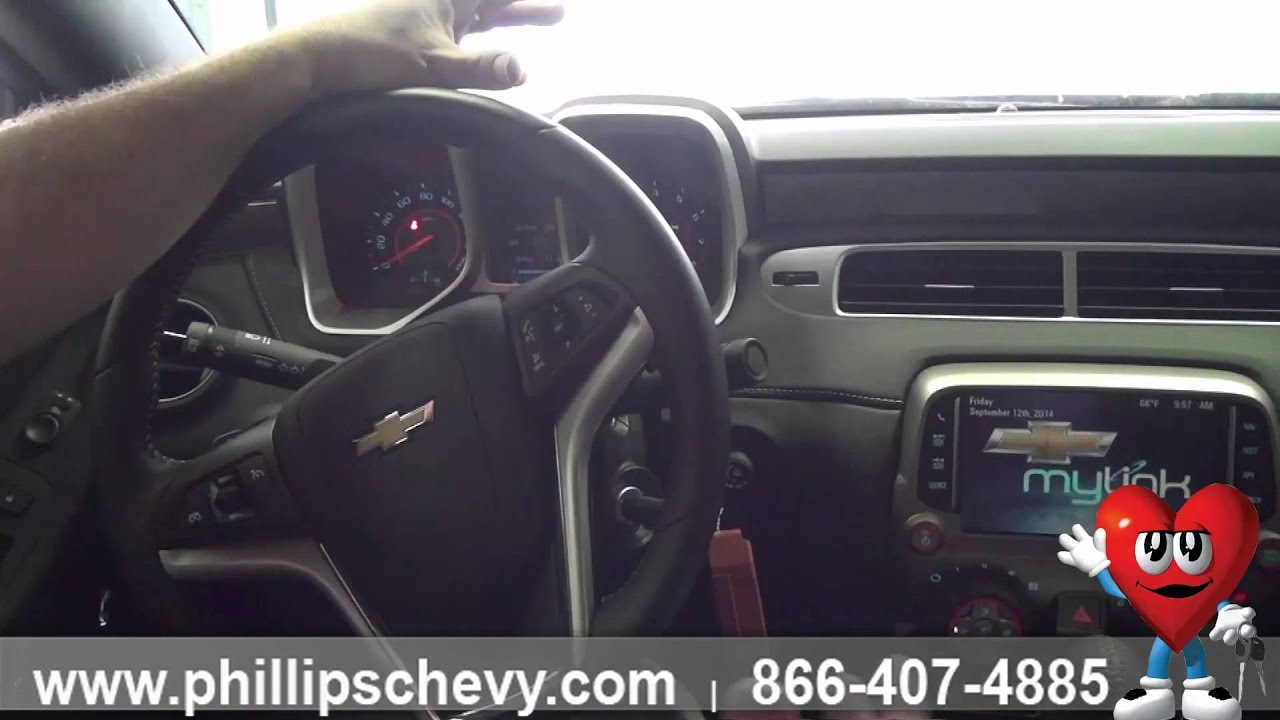 2014 Chevy Camaro   Interior Features   Phillips Chevrolet   Chicago  Dealership New Car Sales