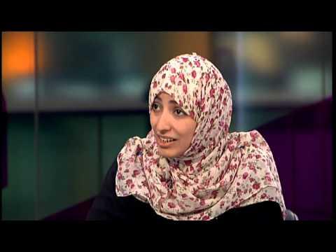 Nobel Peace Prize winner interview