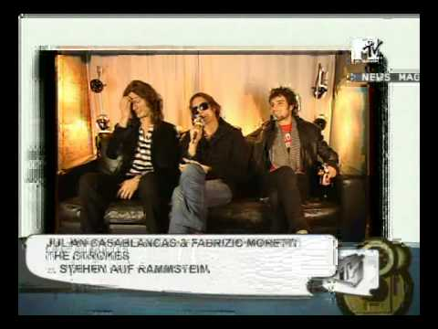 The Strokes - MTV Germany Interview (December 2005)
