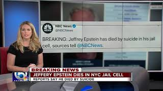 Jeffrey Epstein has died by suicide, multiple sources tell NBC