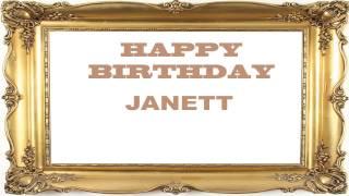 Janett   Birthday Postcards & Postales - Happy Birthday