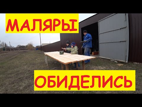 ДЕРЕВЕНСКИЕ БУДНИ / Мотоблок подготовил / Доски покрасили / Готовлю место для цыплят