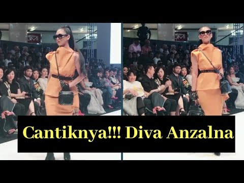 Cantiknya.. Anzalna Nasir Di KL Fashion Week 2018