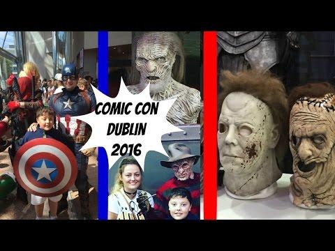 COMICCON DUBLIN 2016