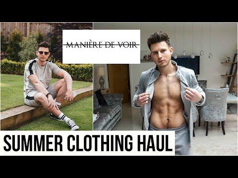 huge-maniere-de-voir-men's-clothing-haul-&-try-on- -summer-2019