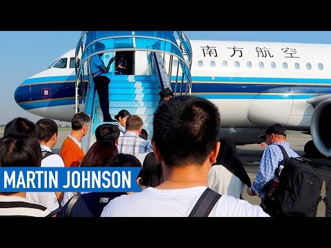 Traveling from California to Indonesia on China Southern Airlines   Part 1
