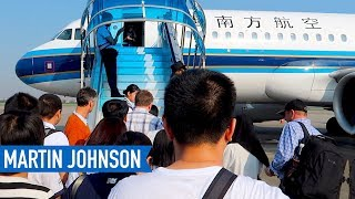 Gambar cover Traveling from California to Indonesia on China Southern Airlines | Part 1