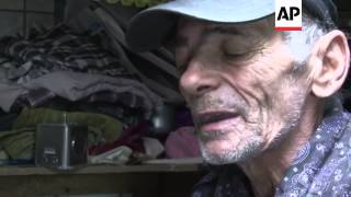 Going underground - man spends 20 years living in sewer