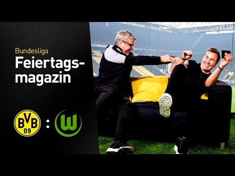 Das BVB total!-Feiertagsmagazin mit Mario Götze | BVB - VfL Wolfsburg
