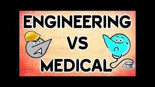 Engineering Vs Medical Students Life ! | Angry Prash