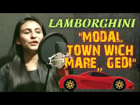 Lamberghini Female Official Cover (Full 4K Video) Singer Kulsum Ibrahim | Black Beats Production |