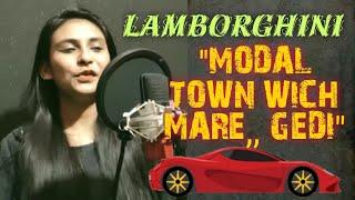 Gambar cover Lamberghini Female Official Cover (Full 4K Video) Singer Kulsum Ibrahim | Black Beats Production |