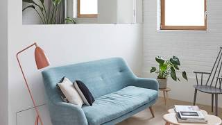 Cheerful New Lease of Life Revitalizes This Two Level London Brick Home