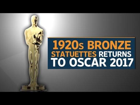 Oscar statuettes return to original 1920s bronze brilliance