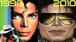 Evolution of Michael Jackson in Video Games | 1990 - 2010 Video