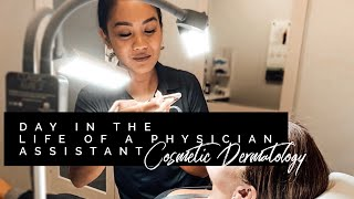 Day in the life of a Physician Assistant- Cosmetic Dermatology |FAQs| Average Salary