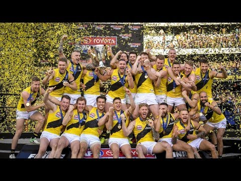 Richmond Tigers win 2017 AFL Grand Final
