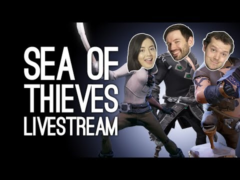 SEA OF THIEVES LIVESTREAM! with Live Q&A and Luke and Ellen of Outside Xtra