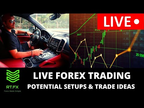 🔴LIVE Forex Trading – London Session Trade Setups and Ideas! (LIVE Market Analysis)