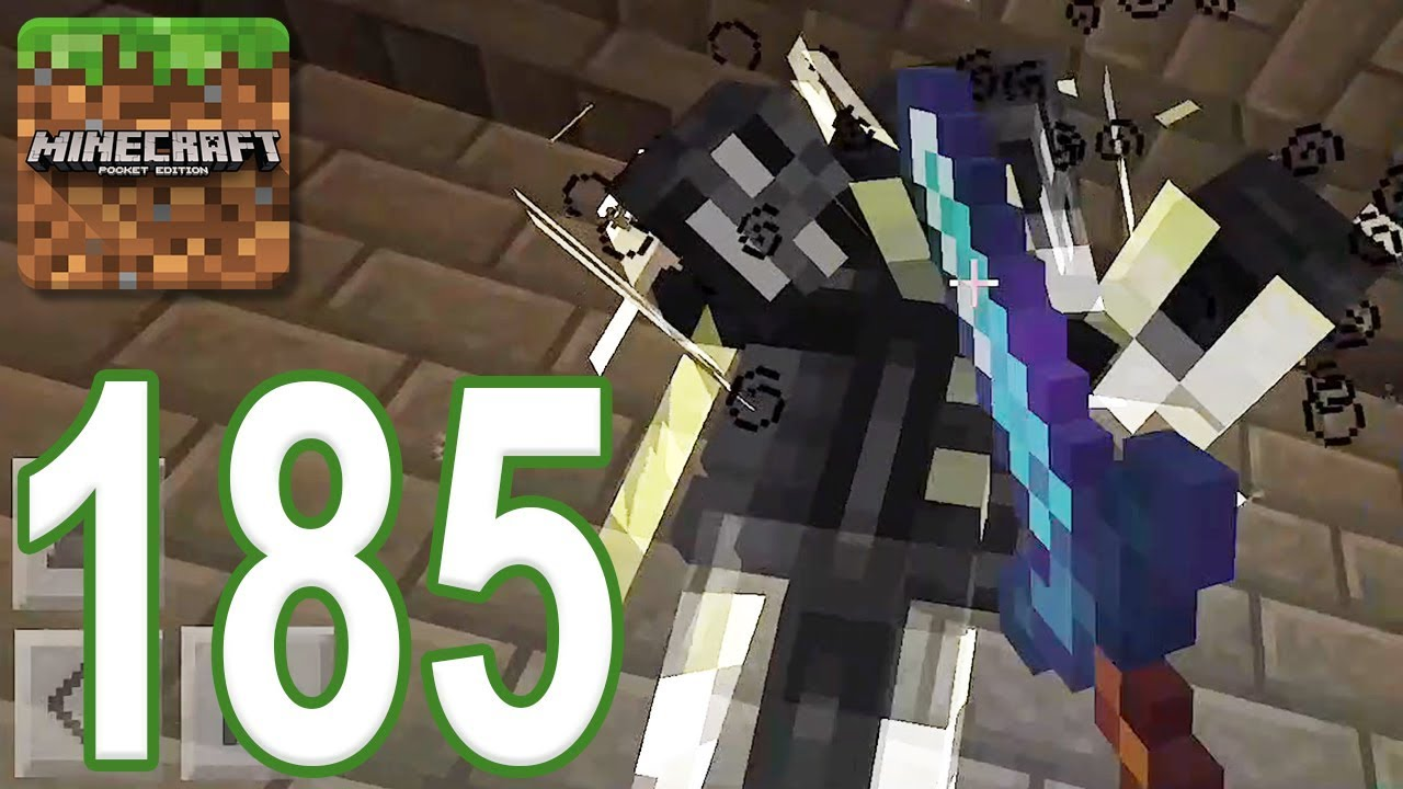 Minecraft Pe Gameplay Walkthrough Part 185 Dungeon