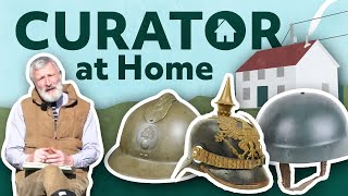 Curator at Home | Tank Crew Headgear | The Tank Museum