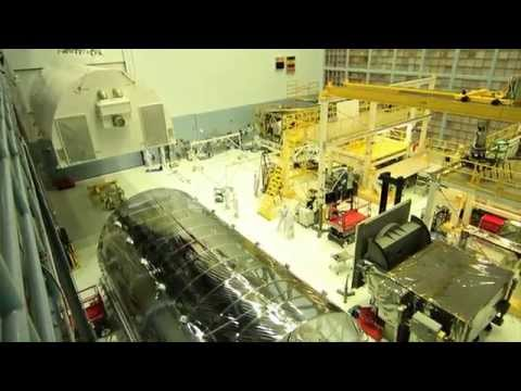 NASA | Webb Telescope Backplane Arrives at GSFC
