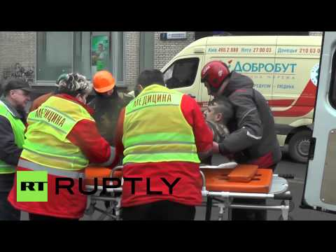 Ukraine: Bodies pile up as at least 30 dead in Kiev battle *GRAPHIC*
