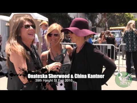 China Kantner Isler & Onateska (Lady Bug) Sherwood Haight St Fair 2016