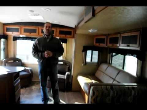 2012 Wilderness 2750RL Rear Living Room Travel Trailer ...